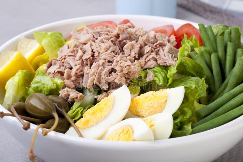 Salada de Nicoise imagens de stock royalty free