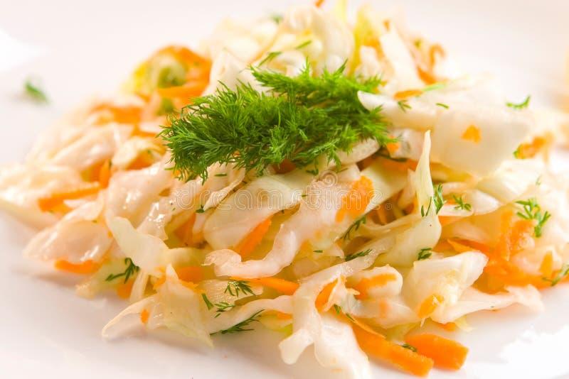 Salada de repolho imagens de stock