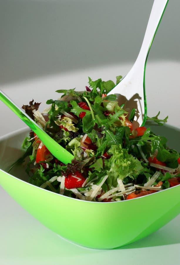 Salada deliciosa imagem de stock royalty free