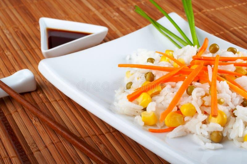 Salada do arroz foto de stock royalty free
