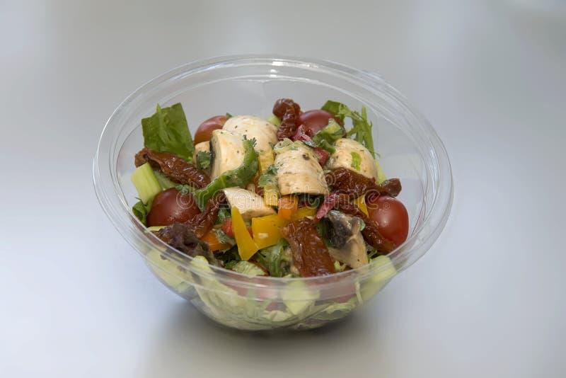 Salada 2 do cogumelo fotografia de stock