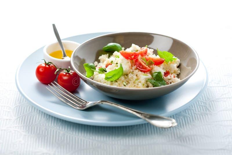Salada do cuscuz foto de stock royalty free