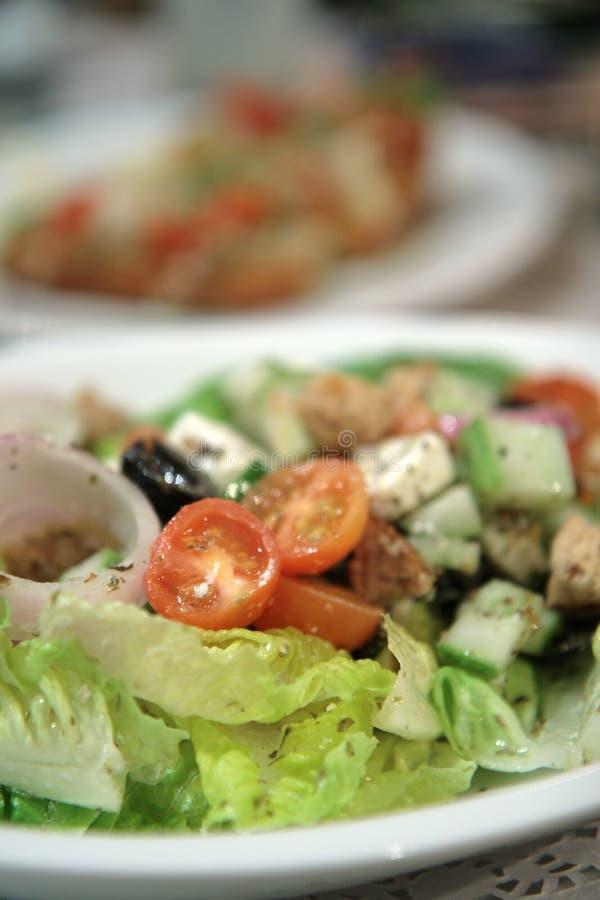 Salada do feta imagem de stock