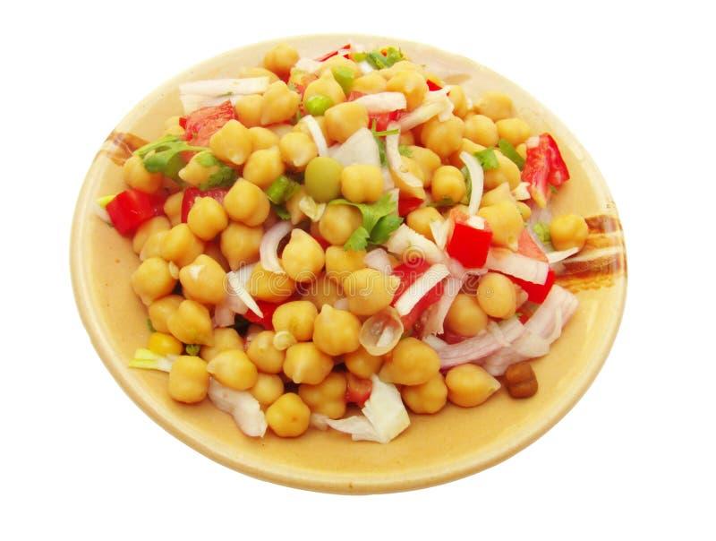 Salada do grama de Bengal (arietinum do Cicer) foto de stock