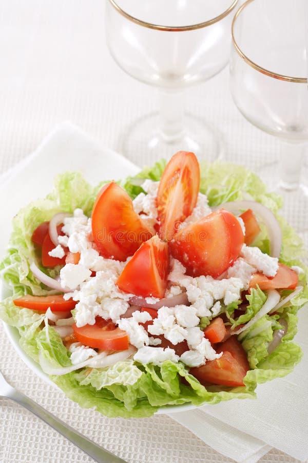 Salada do legume fresco fotos de stock royalty free