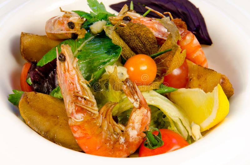 Salada do mar imagem de stock royalty free