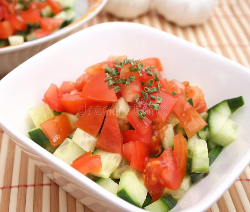 Salada do pepino foto de stock