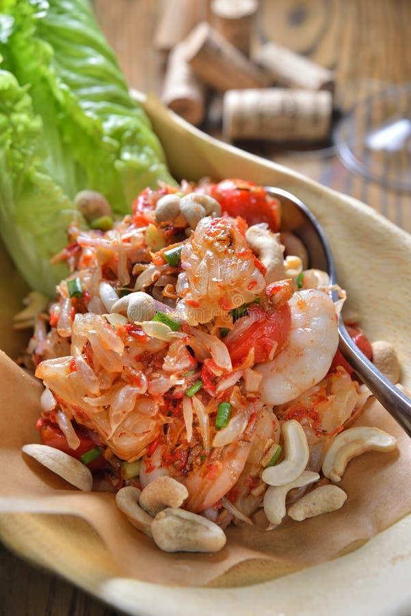 Salada do Pomelo foto de stock royalty free
