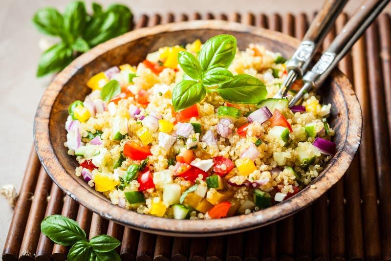 Salada do Quinoa fotografia de stock