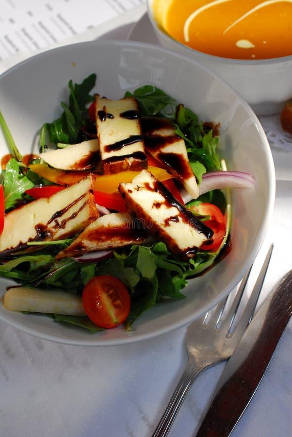 Salada do tofu do aperitivo foto de stock