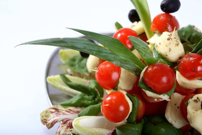 Salada do tomate de cereja   fotografia de stock royalty free