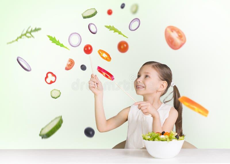 Salada do vôo imagens de stock royalty free