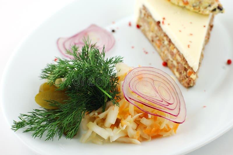 Salada dos legumes frescos imagens de stock royalty free