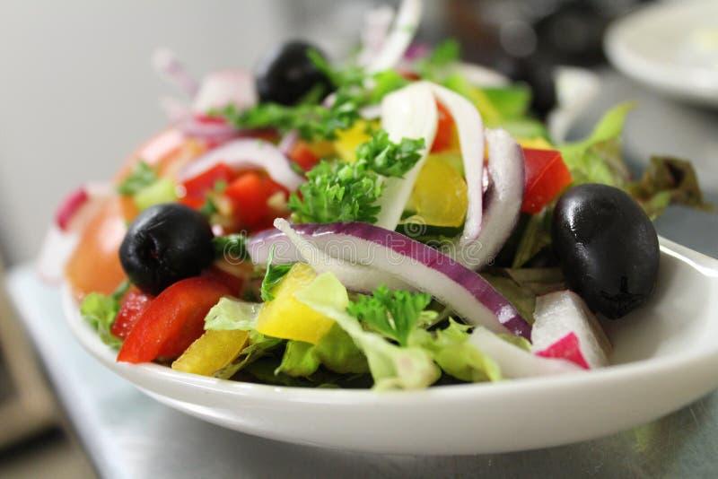 Salada dos vegetais fotos de stock