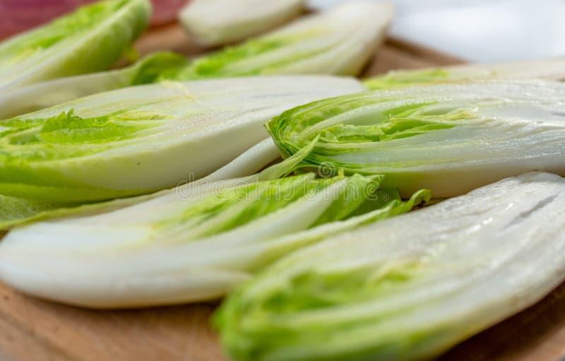 Salada fresca da chicória fotos de stock royalty free