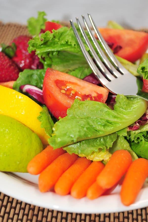 Salada fresca de Lite fotos de stock
