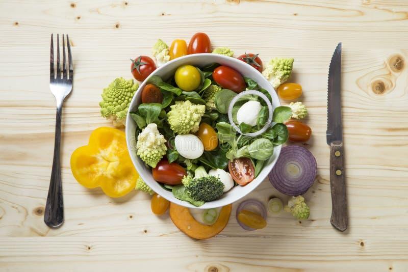 Salada fresca foto de stock