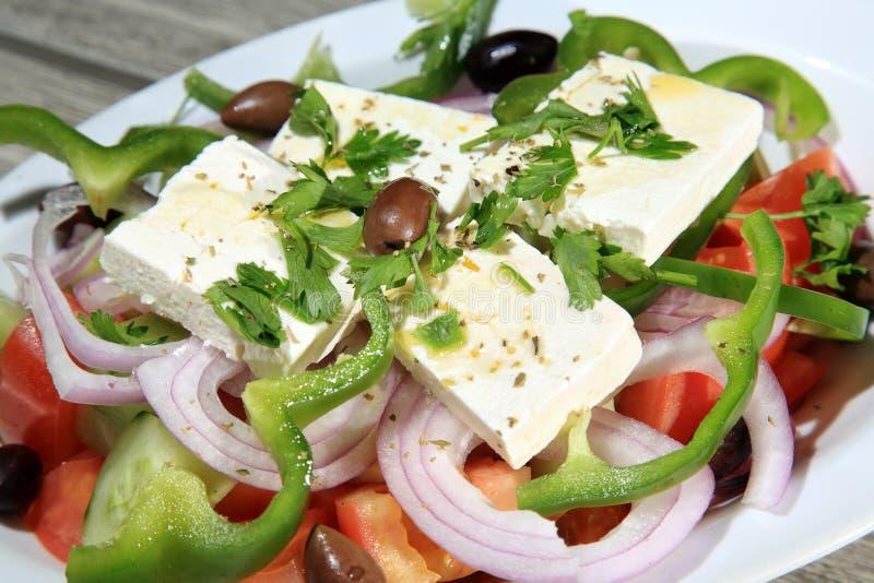 Download Salada grega foto de stock. Imagem de tomate, placa, alimento - 29832016