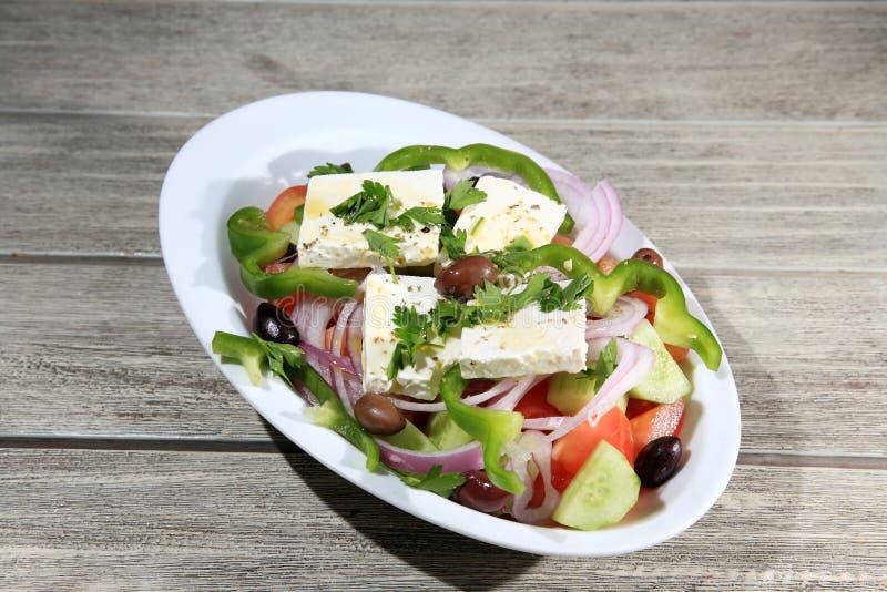 Download Salada grega imagem de stock. Imagem de lunch, feta, queijo - 29832019