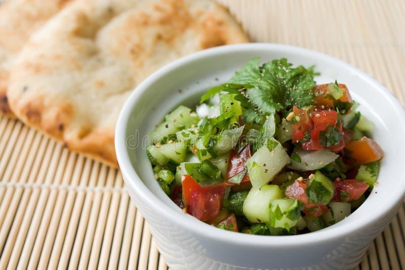 Salada indiana do pepino imagem de stock royalty free