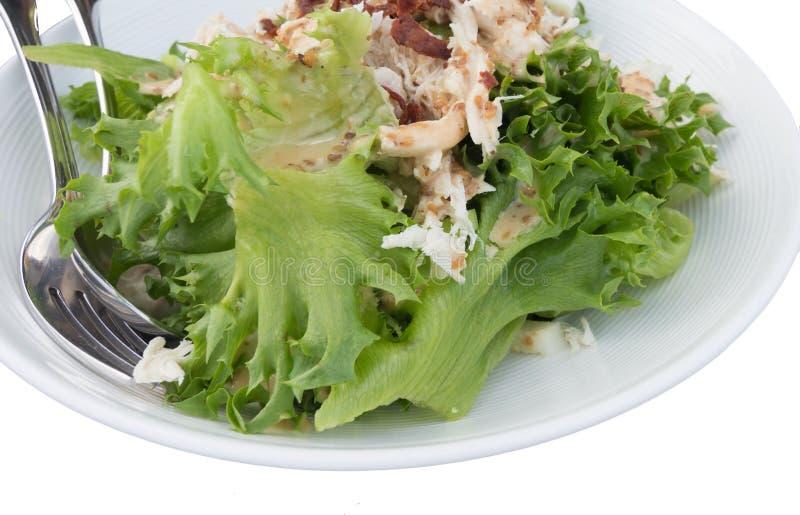 Salada isolada foto de stock royalty free