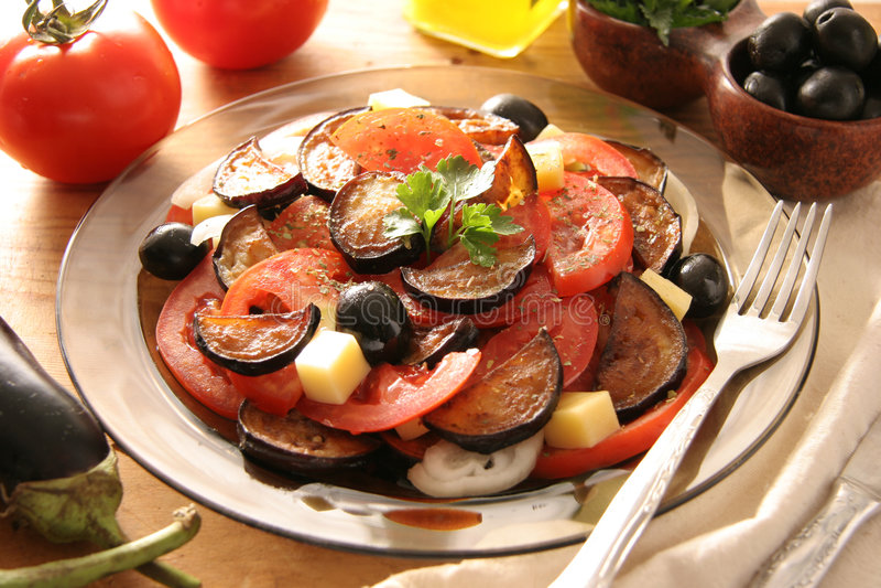 Salada italiana imagens de stock royalty free