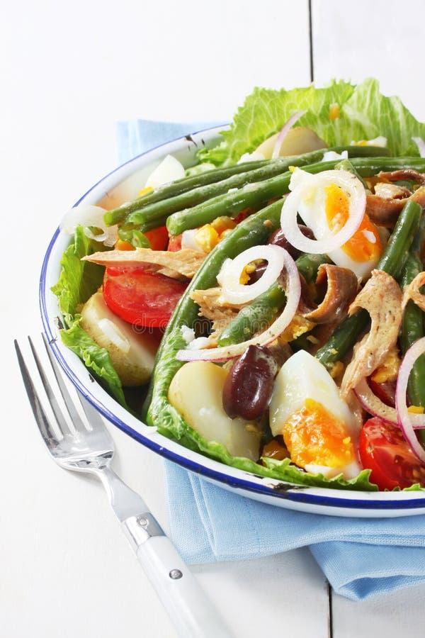 Salada Nicoise imagens de stock royalty free