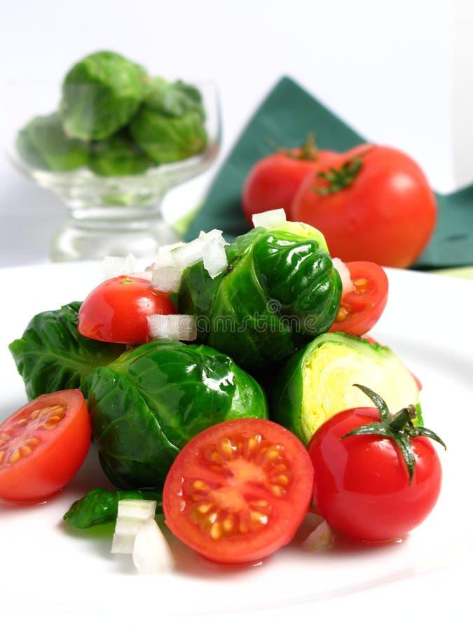 Salada orgânica fresca fotos de stock