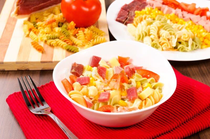 Salada saboroso imagem de stock royalty free