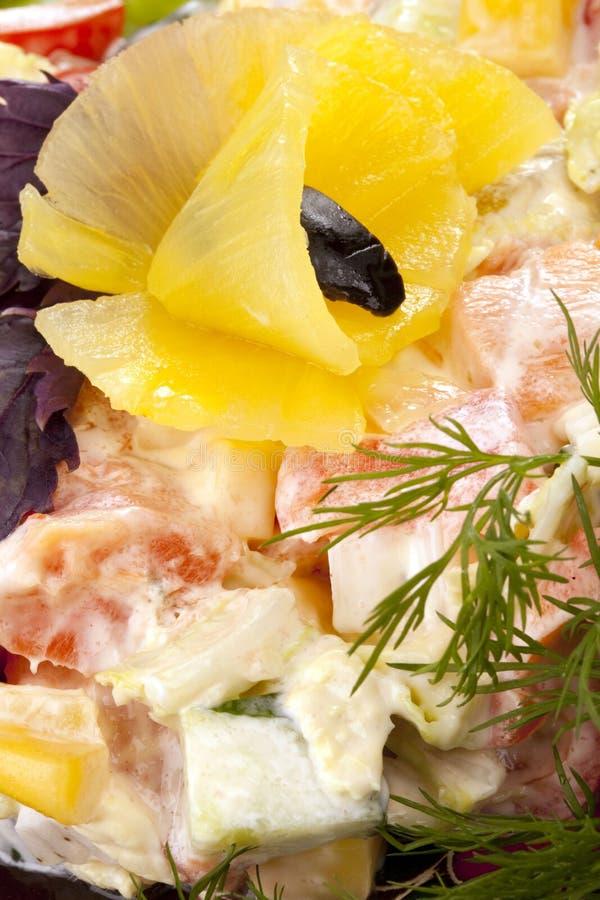 Salada saudável imagem de stock
