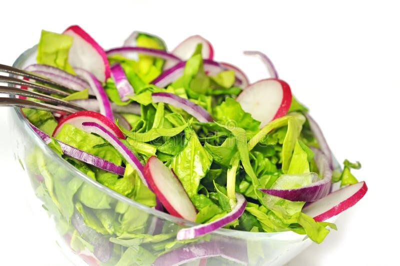 Download Salada saudável foto de stock. Imagem de fatia, pimenta - 16869270