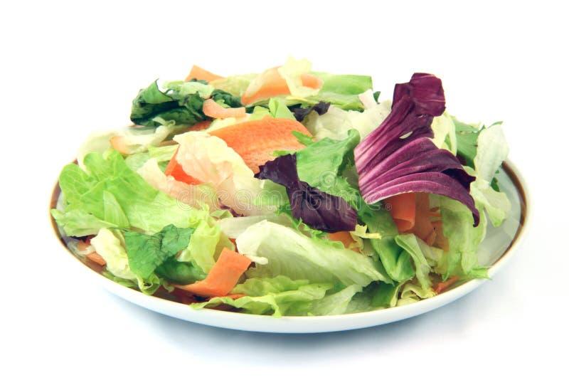Salada saudável comer fotografia de stock royalty free
