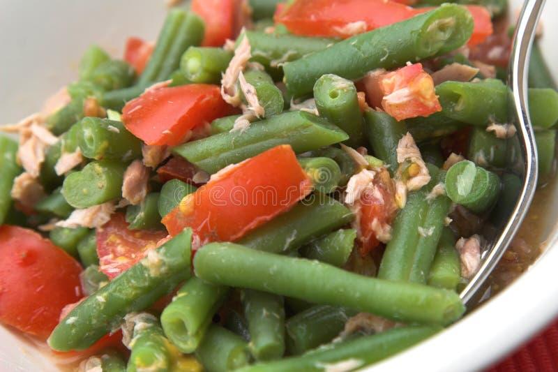 Salada saudável do almoço fotografia de stock royalty free