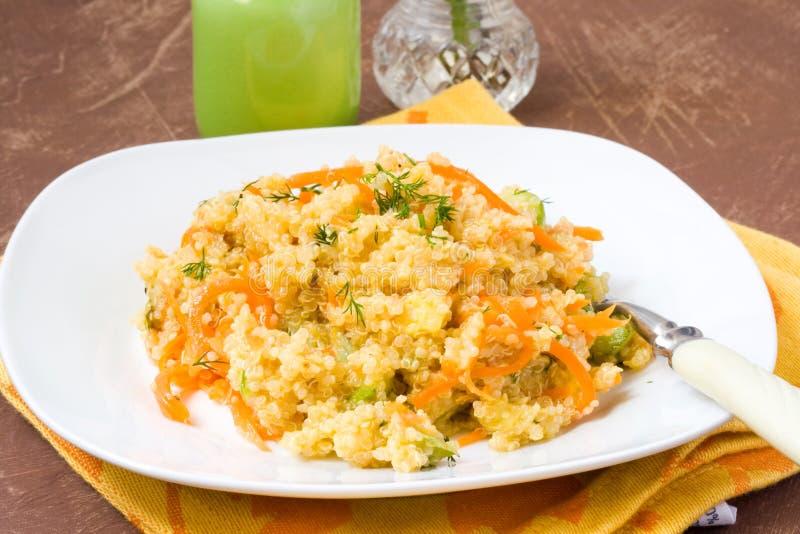 Salada surrada do quinoa foto de stock royalty free