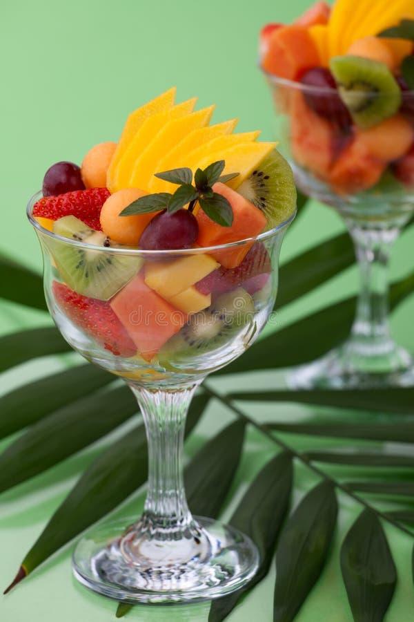 Salada tropical foto de stock