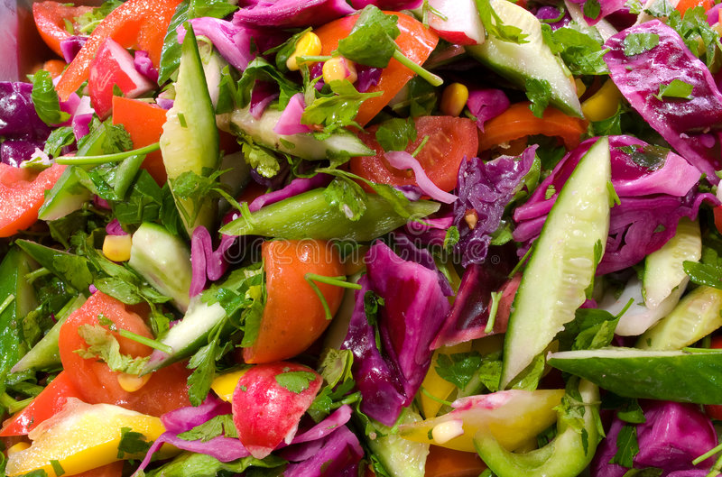 Salada vegetal fotos de stock royalty free