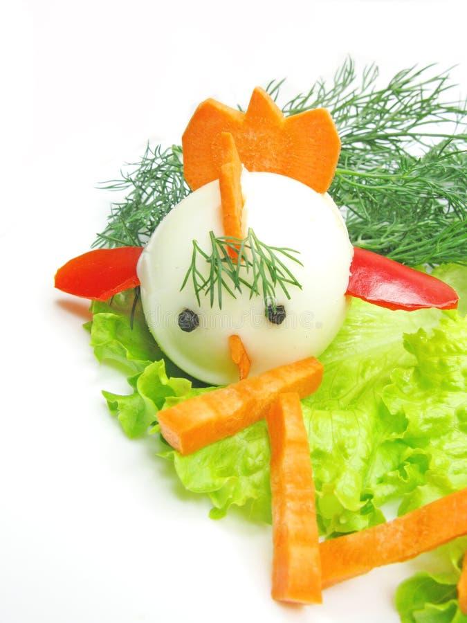 Salada vegetal creativa fotos de stock