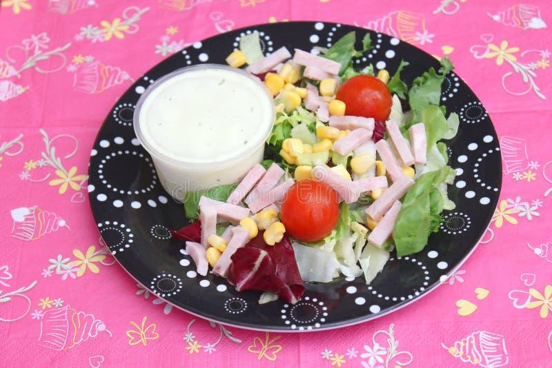 Salada verde _1 fotografia de stock