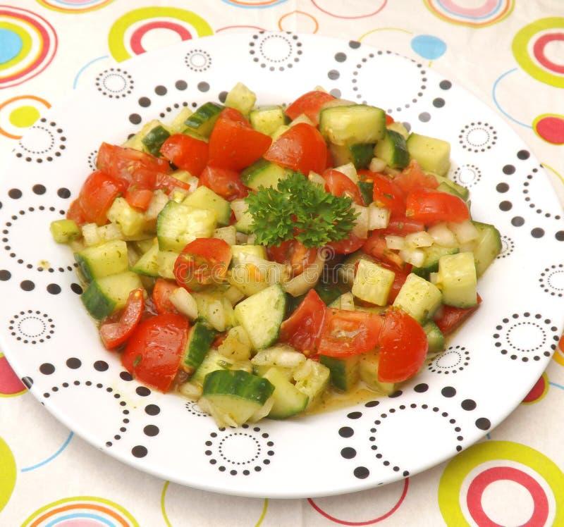 Salada verde _1 imagem de stock royalty free