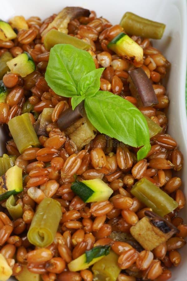 Salade écrite mélangée photos stock