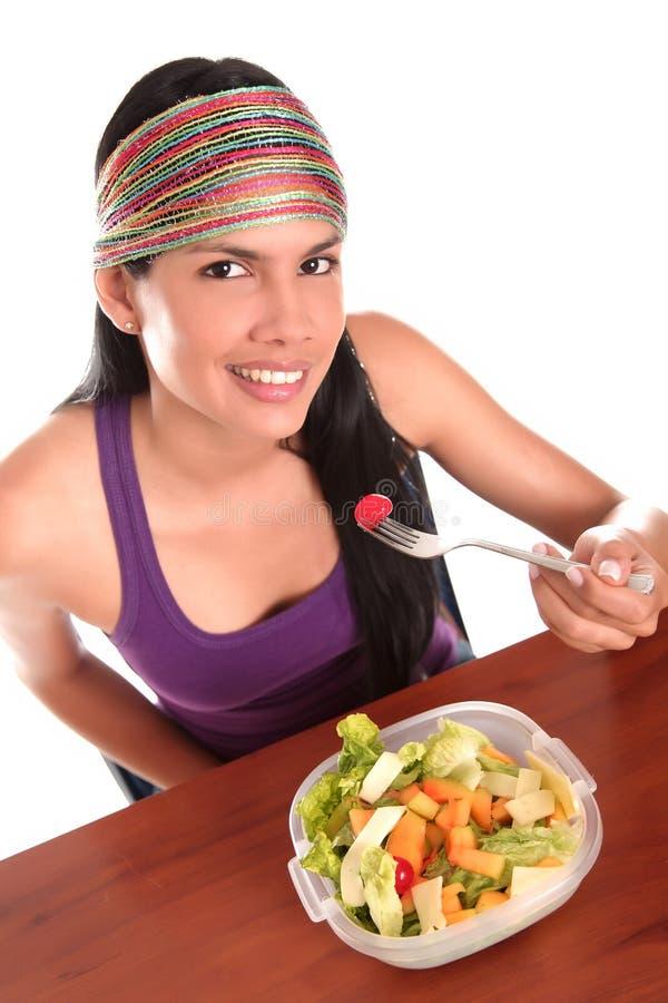 Salade royalty-vrije stock foto's