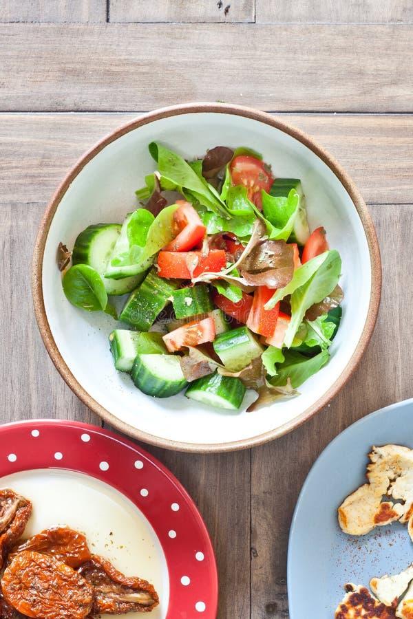 Download Salade photo stock. Image du laiterie, bleu, fromage - 45358220