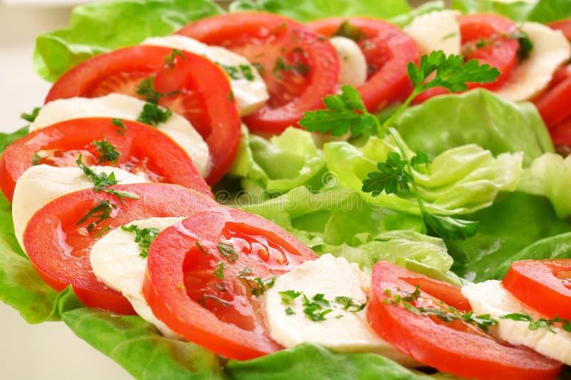 salade caprese photographie stock