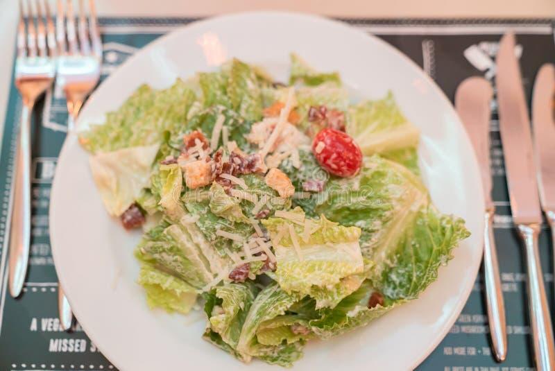 Salade ceasar photo libre de droits