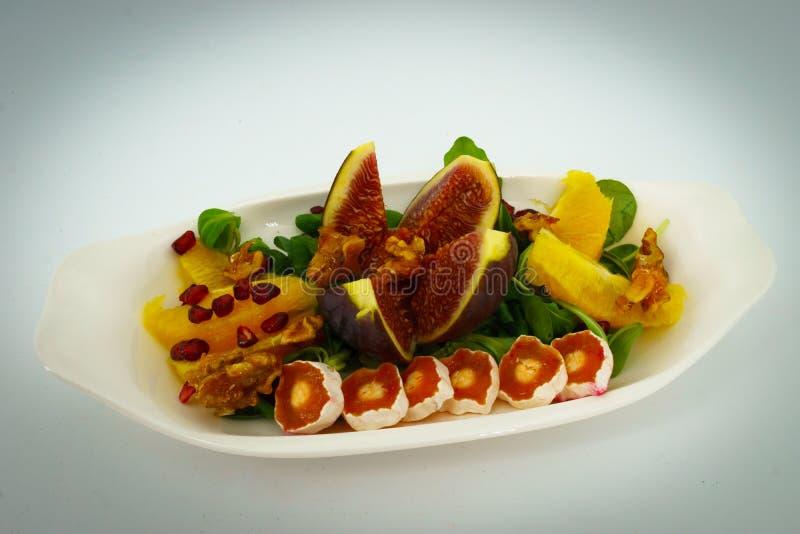 Salade délicieuse d'hiver photo libre de droits