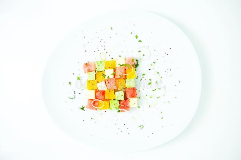 Salade d'échecs photo stock