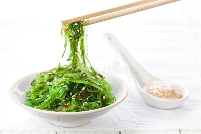 Salade d'algue image libre de droits