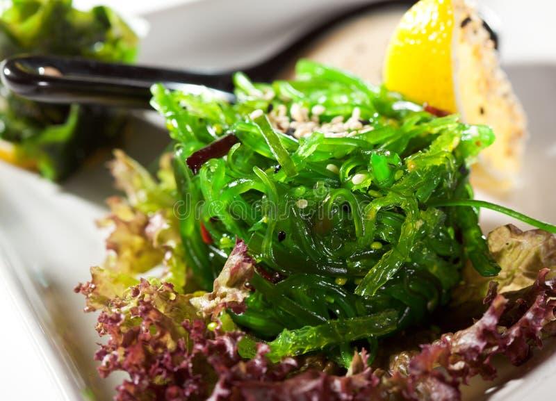 Salade d'algue de Chuka image libre de droits