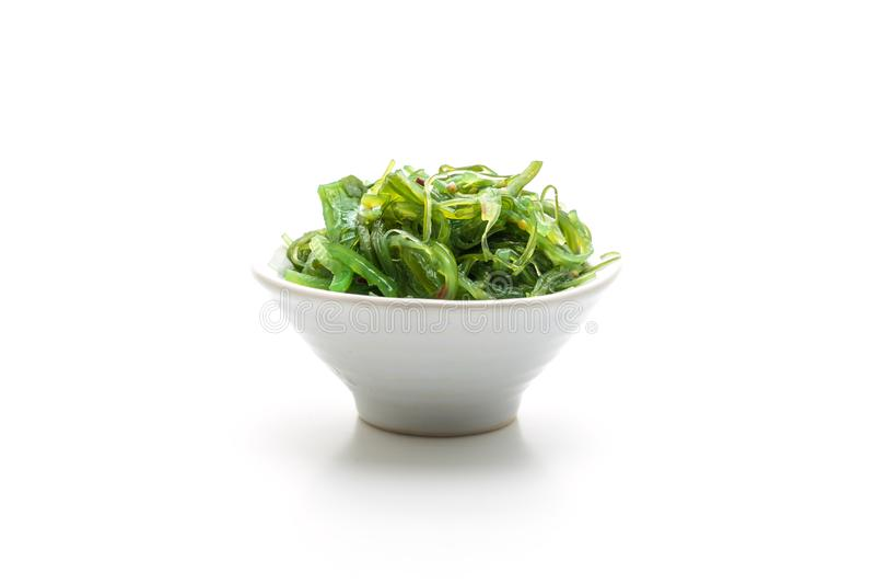 salade d'algue - style japonais images stock