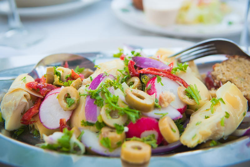 Salade d'artichaut images stock